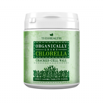 Organic Chlorella Tablets -  500g